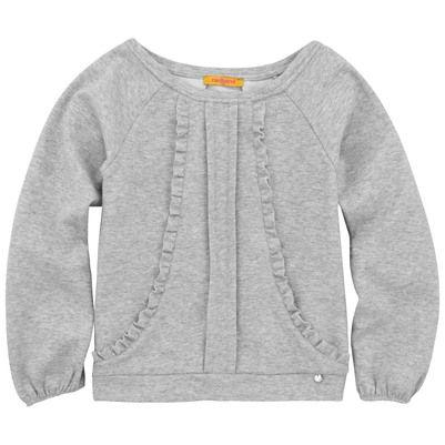 Mottled grey top
