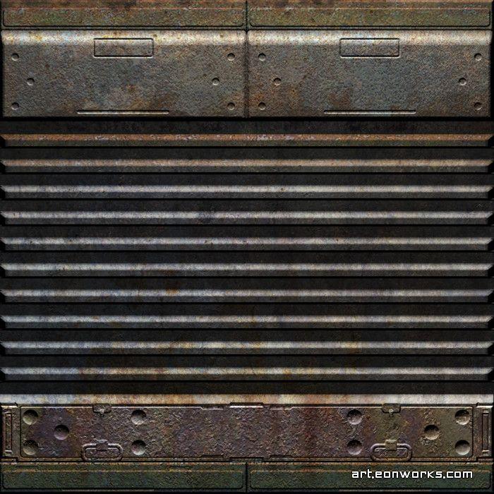 Sci-Fi rusty wall texture