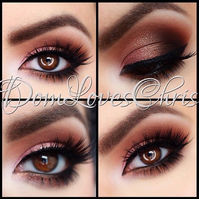 Pretty warm neutral eye shadow