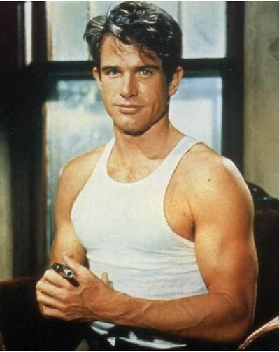 Warren Beatty --sexy in his day!