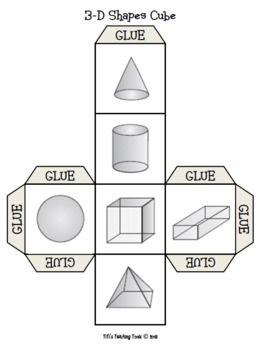 3D Shapes Cube