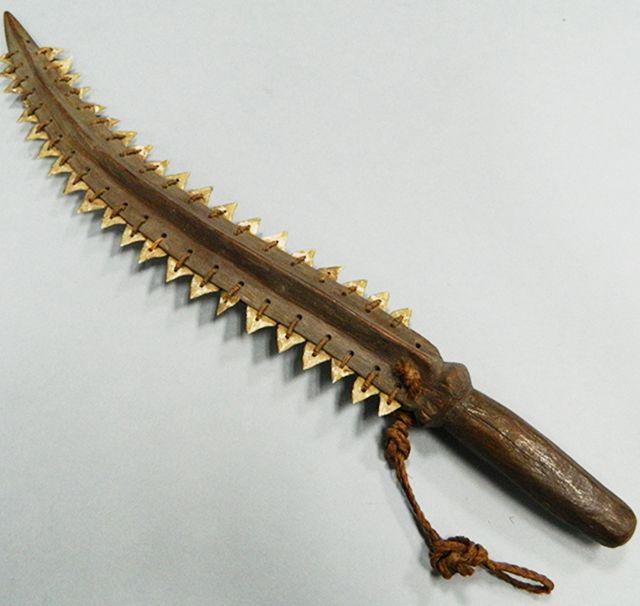 Artifact Record: Shark Tooth Sword