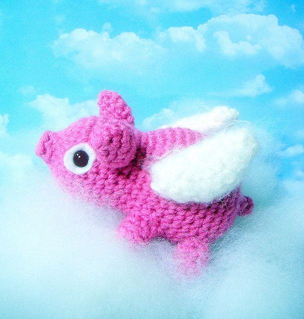 Flying PigFly Pigs, Flying Pigs, Pigs Pigletamigurumi, Animal Dolls, Pigletamigurumi Animal, Patternfli Pigs, Pigs Zone