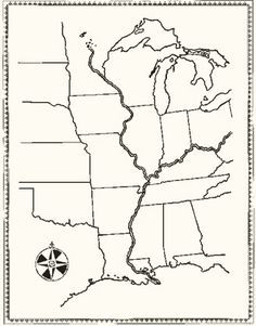 printable online maps for Holling c. holling geography book - Google Search