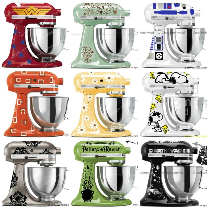 Diy Kitchenaid Mixer Decals ~ Which decal should i get for my kitchen aid mixer that