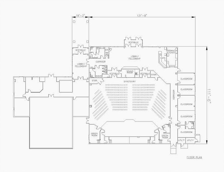 34 Best Church Plans Images On Pinterest Floor Plans