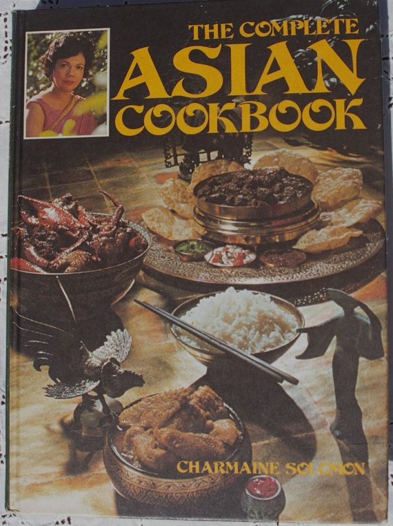 The Complete Asian Cookbook by Charmaine by TrellisLaneVintage, $11.00