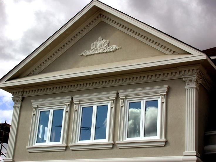 17 best images about exterior mouldings by artemis studio for Exterior window pediments