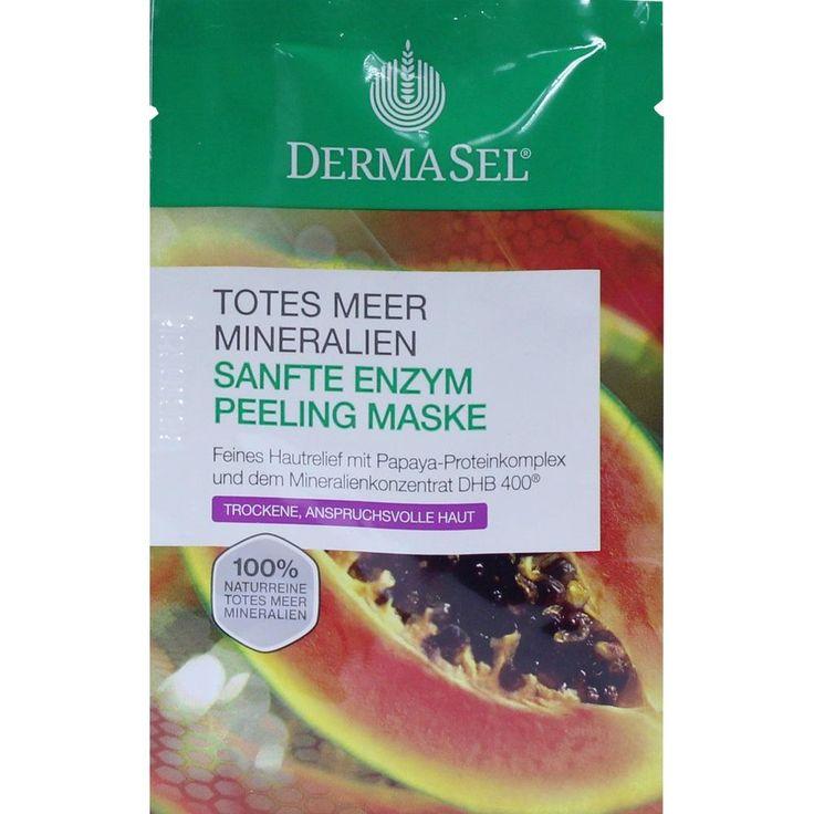 DERMASEL Maske Enzym Peeling SPA:   Packungsinhalt: 12 ml Gesichtsmaske PZN: 10341357 Hersteller: Fette Pharma AG Preis: 1,27 EUR inkl.…