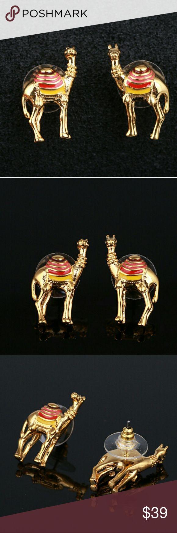 Kate spade camel earrings New kate spade Jewelry Earrings