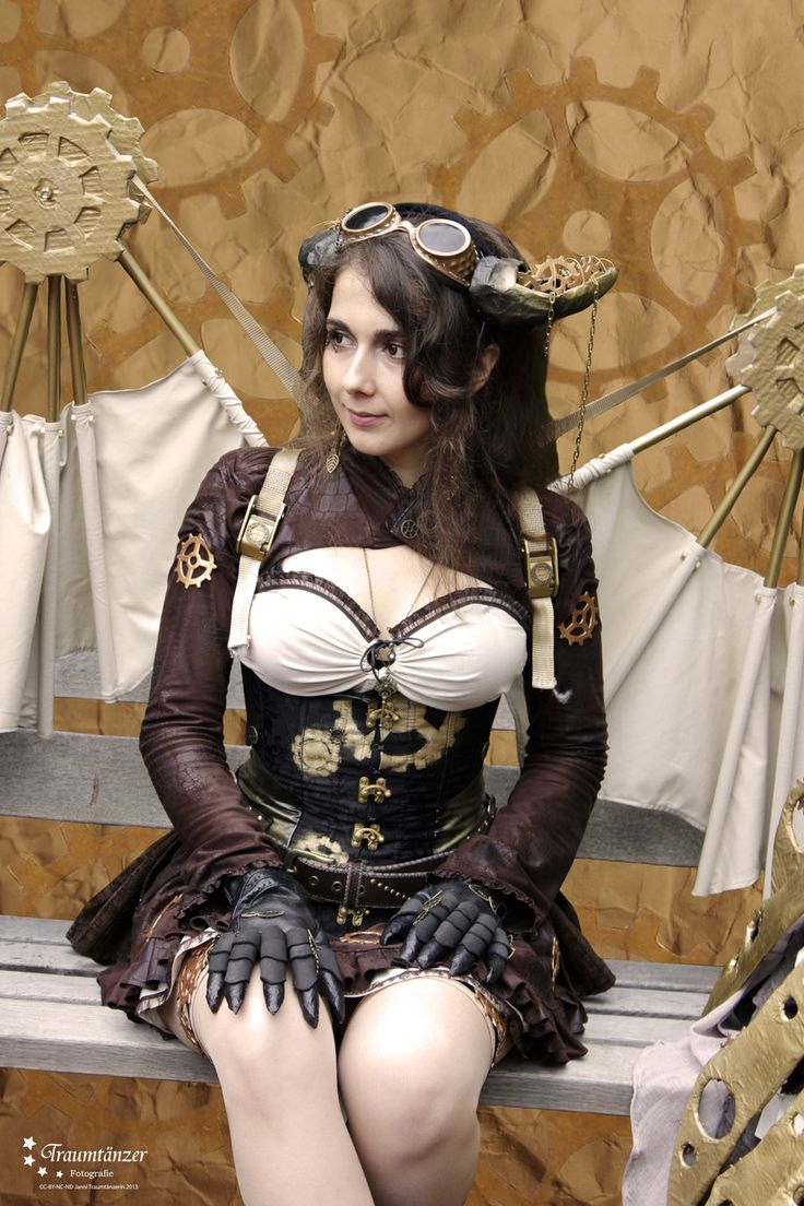134 best images about Steampunk wings and backpacks on ...