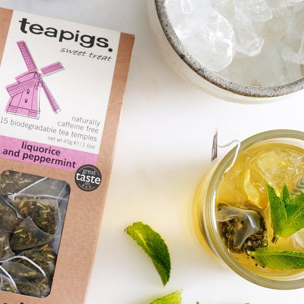 In need of a sweet treat this afternoon? Liquorice and peppermint tea is naturally one of our sweetest blends - perfect over ice!