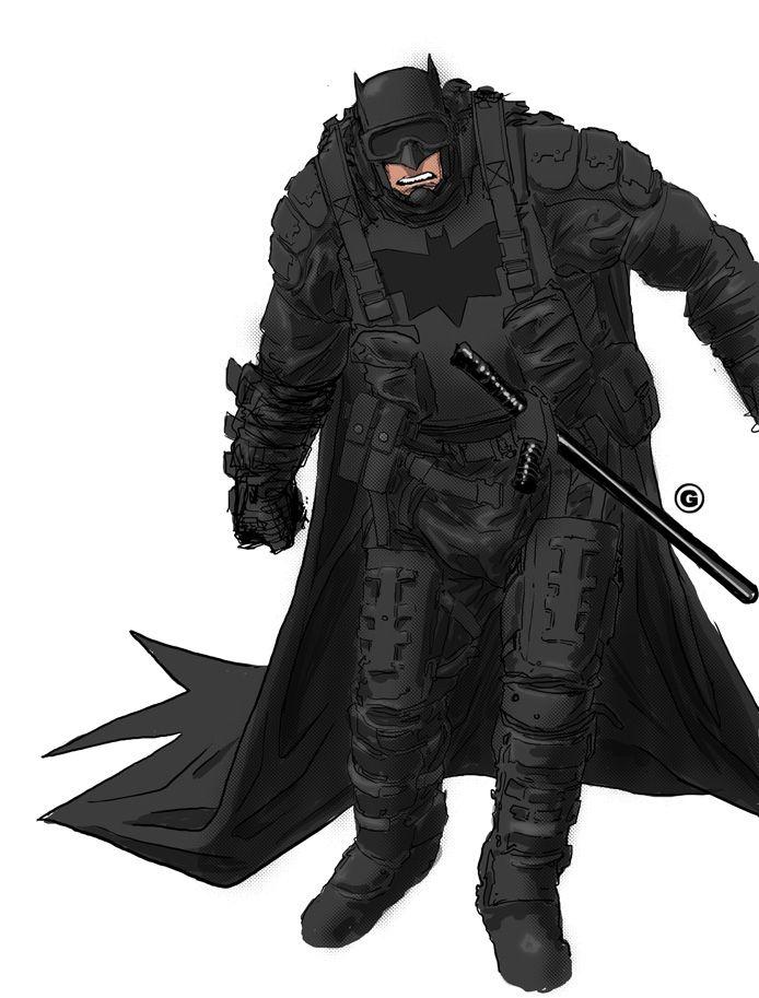 Batman redesign - Juan Gedeon