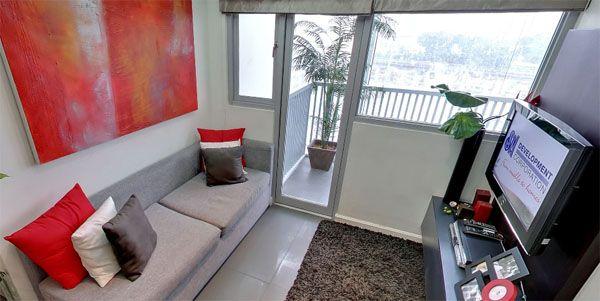 Berkeley Residences - Living Room Area #condoForSale #realEstate #manilacondo www.mymanilacondo.com/