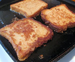 wheat free, egg free, soy free, dairy free french toast!