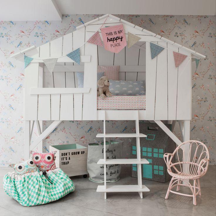 Cama caba a dise o n rdico tendencia en decoraci n - Diseno habitacion infantil ...