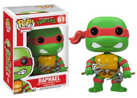 POP! TV: Teenage Mutant Ninja Turtles - Raphael This one would be more for Zayvin, as he seems to identify with Raphael quite a bit.