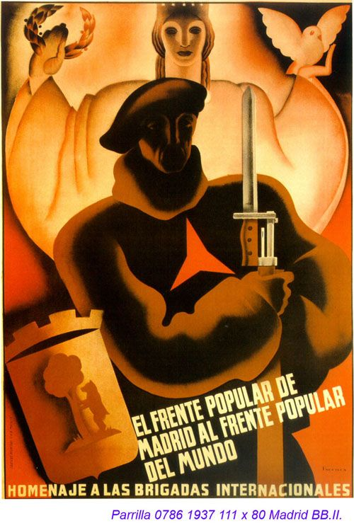 Spain - 1937. - GC - poster - Parrilla