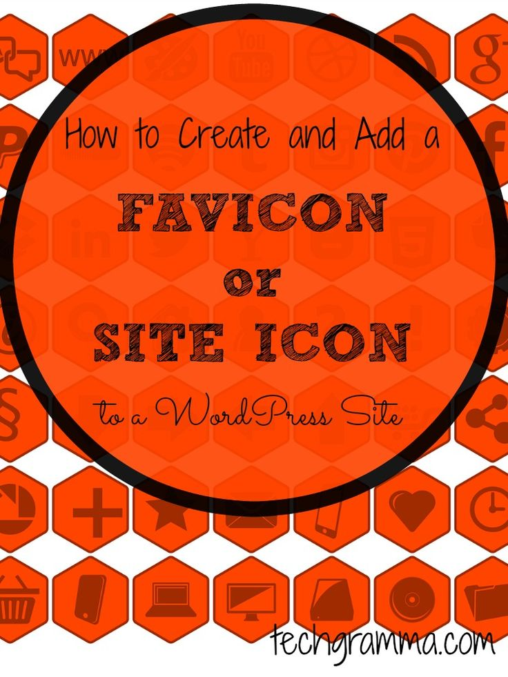 Add a favicon or site icon to your WordPress site to improve your readers experiences. These easy to follow directions will help you add yours.