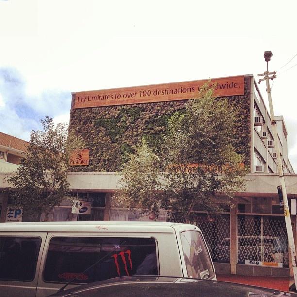 Kloof Street, Cape Town, Emirates ad