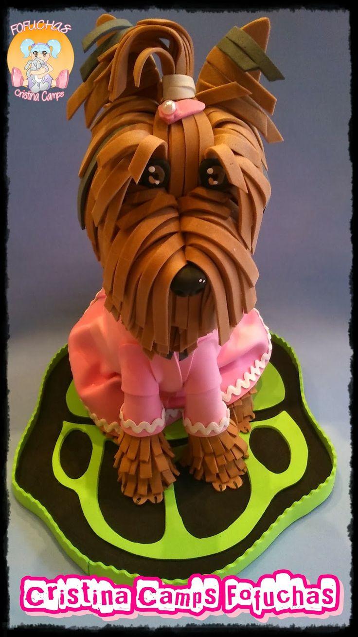 Cristina Camps Fofuchas: Fofucha perro yorkshire