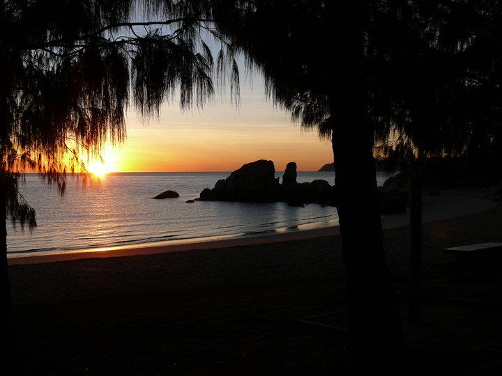 sunrise Horseshoe Bay, Bowen, Queensland, Australia