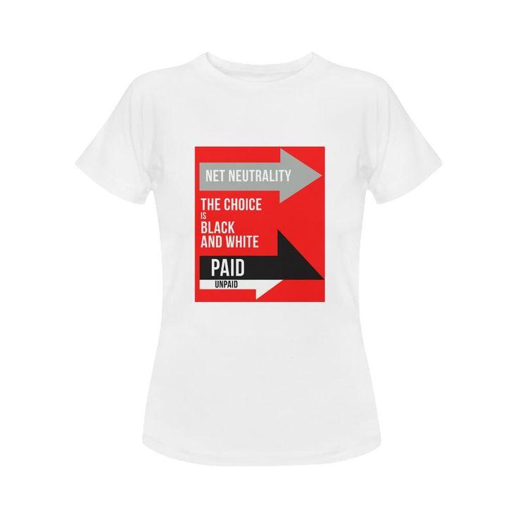 Net Neutrality Arrows Women's Classic T-Shirt