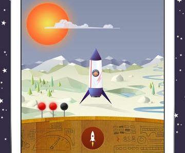 App: Raketen bauen für Anfänger