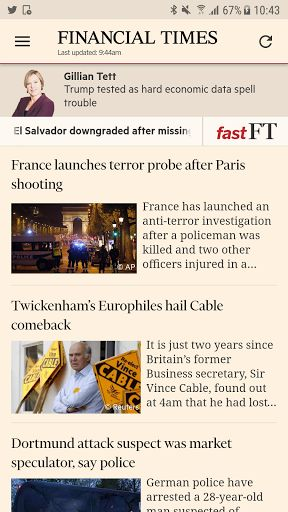 Financial Times v2.21.2.0 (Subscribed)   Financial Times v2.21.2.0 (Subscribed)Requirements:4.1 and upOverview:Get the Financial Times on your Android phone and tablet. The app is automatically optimised for the screen size of your device giving you the best experience of the FT in any format.  Get the Financial Times on your Android phone and tablet. The app is automatically optimised for the screen size of your device giving you the best experience of the FT in any format. Enjoy the FT's…