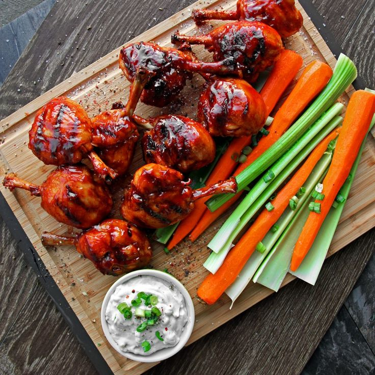 Honey Jalapeno BBQ Chicken - Sticky, Smoky, Sweet & Spicy Grilled Wings!! | A Bachelor and His Grill