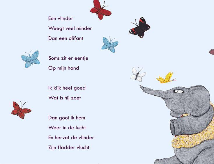 olifant, vlinders, connie snoek, poëzie voor kinderen, kindergedichten, snoekduikjes