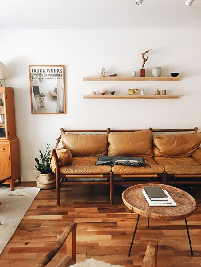 Midcentury Modern Mashup: At Home With A Rising Design Star In LA. Small LivingLiving  SpacesInterior ...