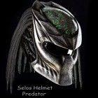 Alien Predator Helmet, Motorcycle DOT Approved