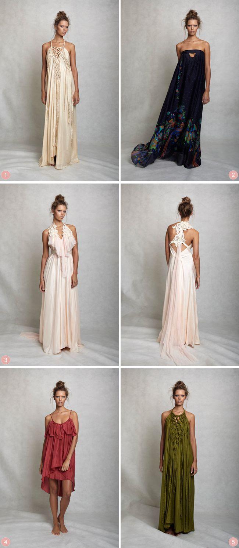 Perfect Bohemian bridesmaid dresses | Lisa Brown Bridesmaid Dresses | The Bride's Tree - Sunshine Coast Wedding