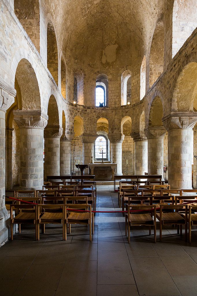 St. John's Chapel in the White Tower, Tower of London, England by John & Tina Reid