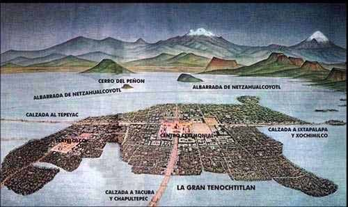 The capital city of the Aztec empire was Tenochtitlan, now the site of modern-day Mexico City. Built on a series of islets in Lake Texcoco, ...