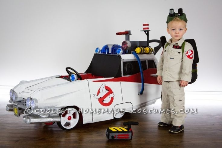 Littlest Ghostbuster Toddler Costume – Who You Gonna Call?!?!