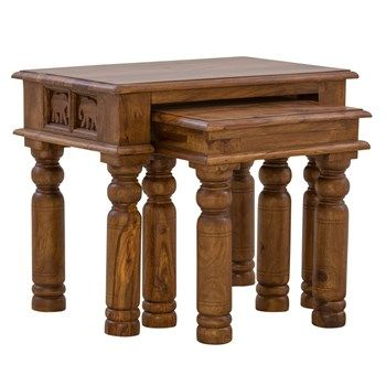 Hathi Nest of Two Tables