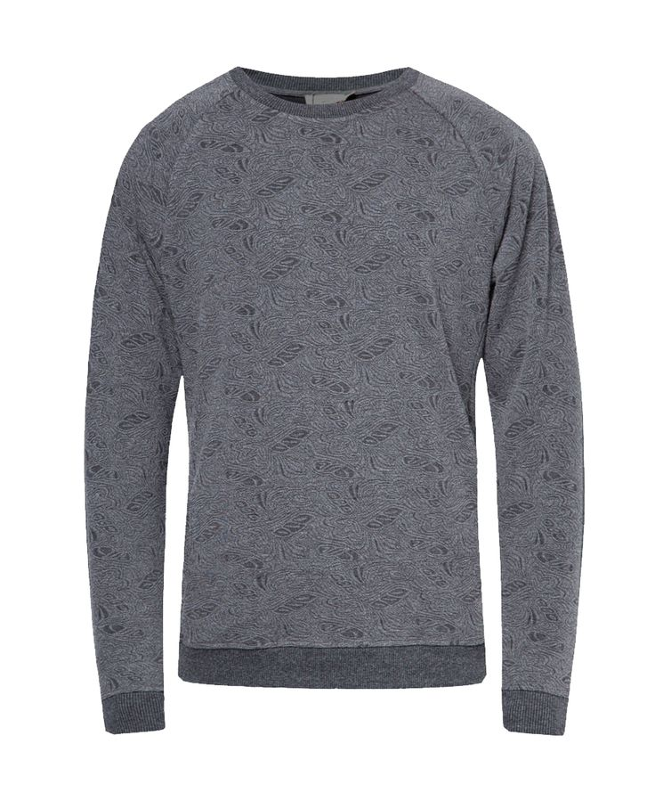 Get a warm and comfy look with ZALORA Textured Pattern Sweater. This grey sweater made from cotton with abstract pattern with round neck, long sleeve, perfect for cold weather, stay in style with this sweater. http://www.zocko.com/z/JJ4FC
