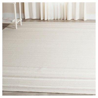Rhea Area Rug Gray Ivory 8 X 10 Safavieh