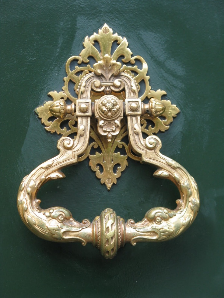 Amazing Door Knocker; Paris