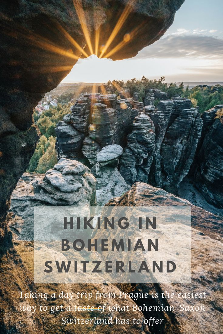 Why You Should Consider Hiking in Bohemian Switzerland: Taking a day trip from Prague is the easiest way to get a taste of what this Bohemian-Saxon Switzerland has to offer. Just an hour and a half north and a complete departure from the centuries-old sites, the northern Bohemian nature is a treasure in it's own right.