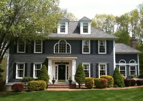 gray house shutter colors - Bing Images