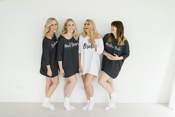 Sleep Shirts for Bridesmaids
