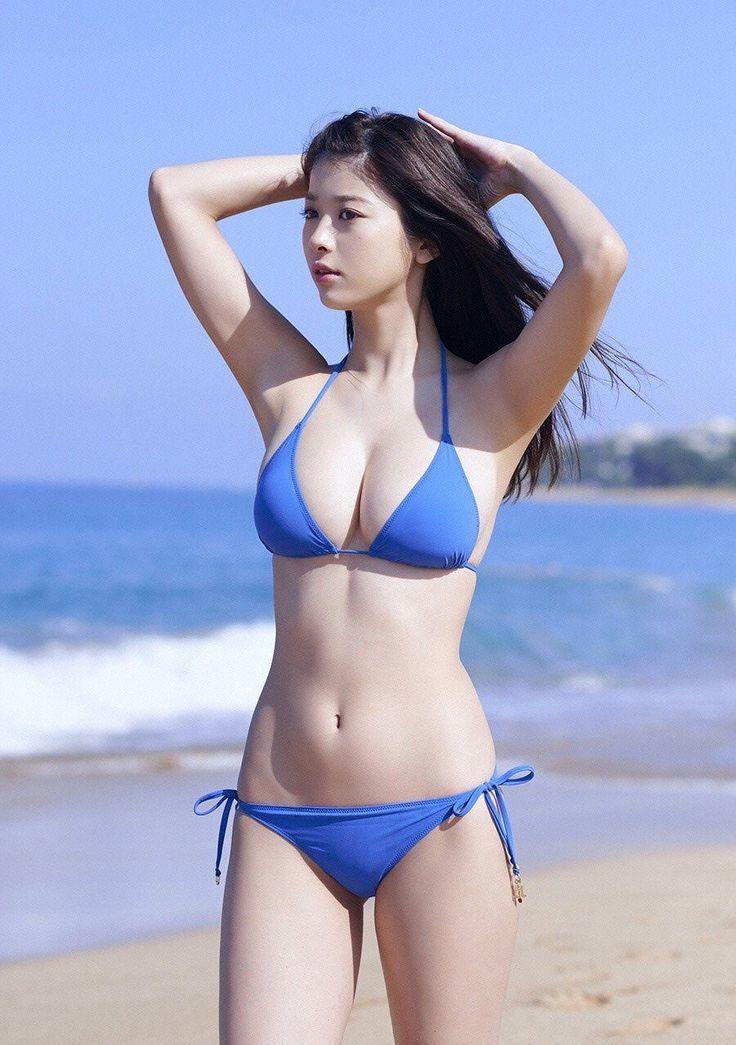 Asian model bikini