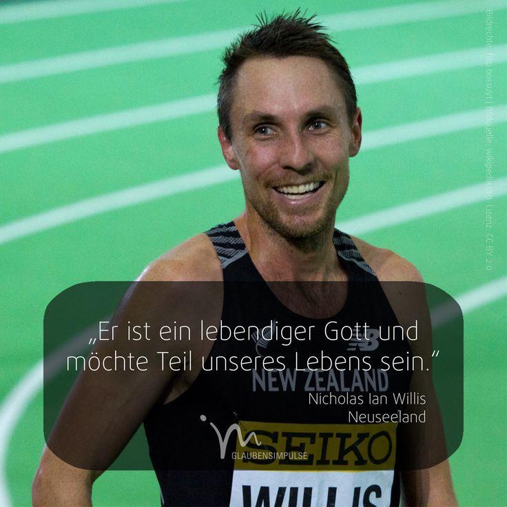 """OLYMPIA-IMPULS (3/17) Jeden Tag ein neuer Star. """"Er ist ein lebendiger Gott und möchte Teil unseres Lebens sein."""" Nicholas Ian Willis (Neuseeland) #olympiaimpulse #sport #glaubensimpulse #im #rio #brasil #brasilien #nicholasianwillis #willis #neuseeland #newzeeland"""