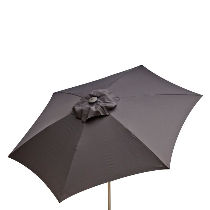 8.5' Doppler Market Umbrella - Anthracite (Grey) - Parasol