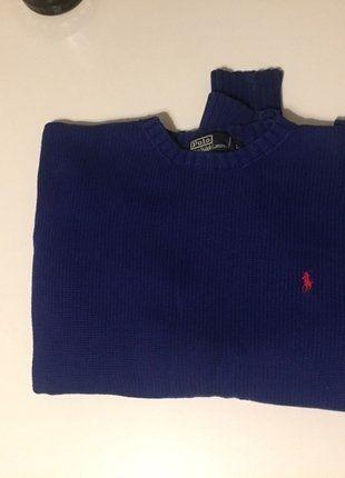 Kup mój przedmiot na #vintedpl http://www.vinted.pl/odziez-meska/swetry-w-serek/16116521-granatowy-meski-sweter-od-polo-ralph-lauren
