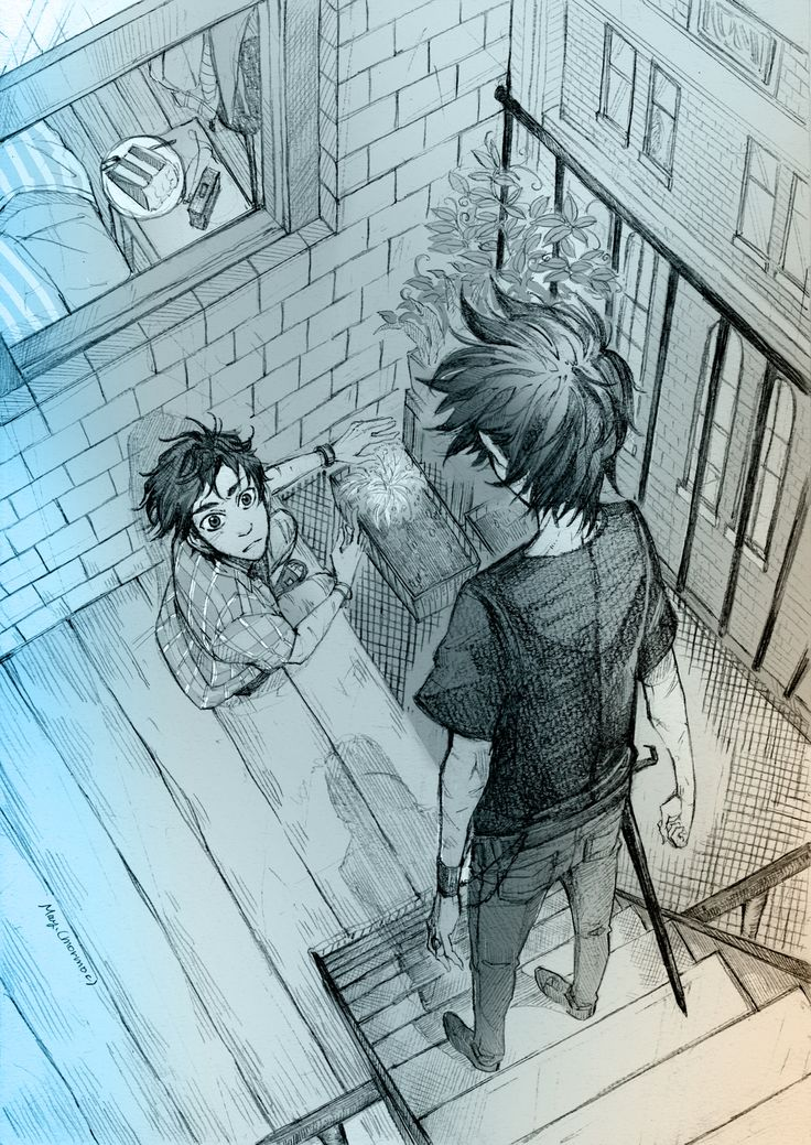 When I read this chapter for the first time, I was excited Nico's appearing and what will happen. | art by mormoc