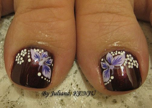 34 Foot Nail Art Designs